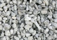 limestone Chippings--- White/grey