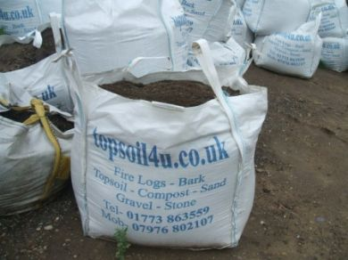 Organic compost root base bag topsoil nottingham for Compost soil bags
